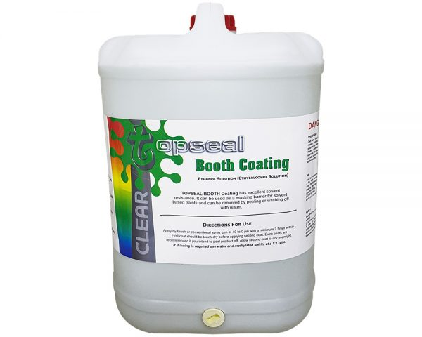 Topseal Booth Coating